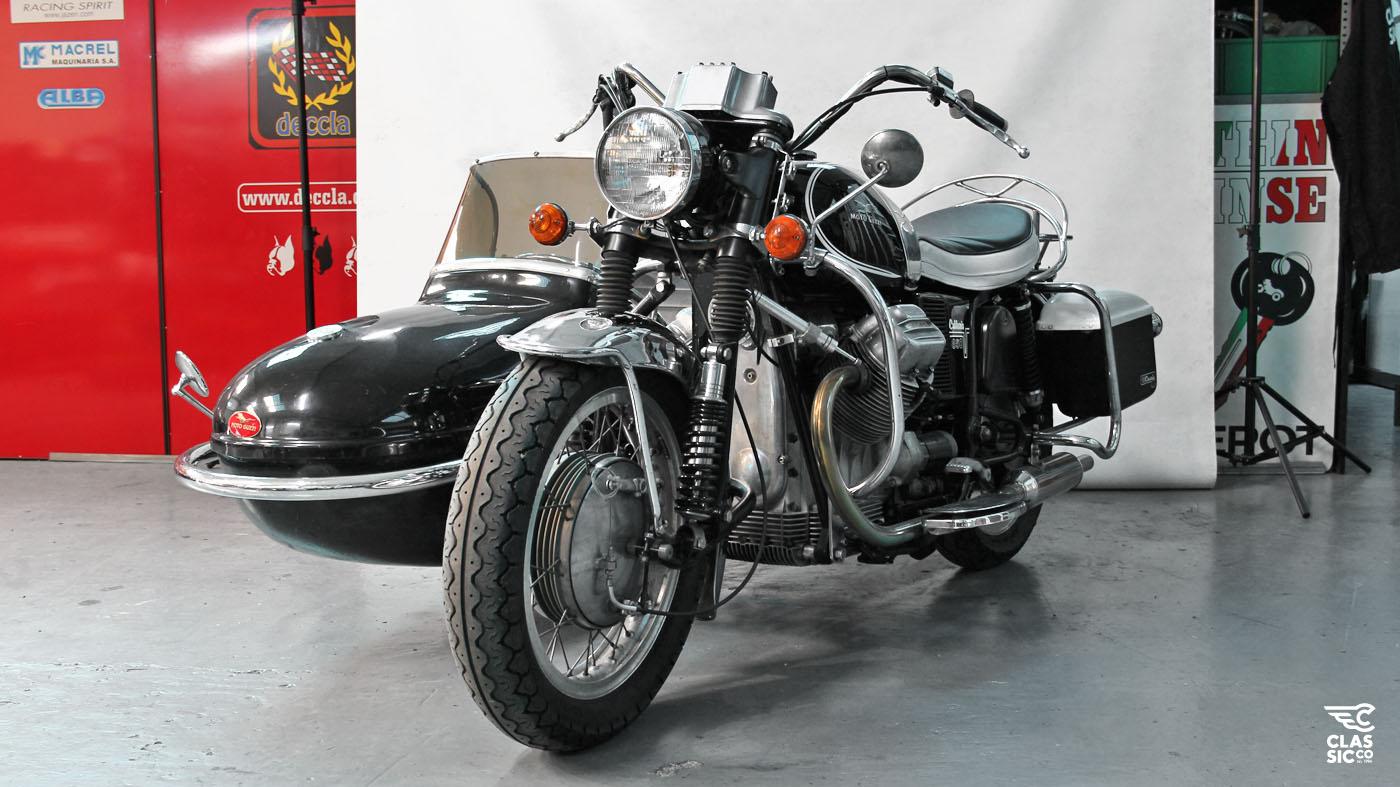 "Moto Guzzi California >> ClassicCo – MG V7 SIDECAR ""El Bufalo"""